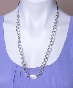 Adjustable length necklace Shell Chain Collar Chain Jewelry