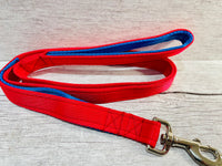 Two Tone Plain Traffic Handle and Padded Handle Lead