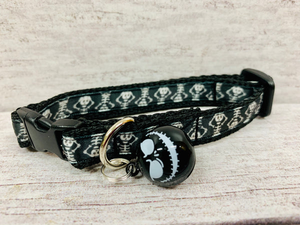Halloween Skeleton Puppy/Small Dog Collar