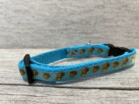 Squirrel Acorn Puppy/Small Dog Collar