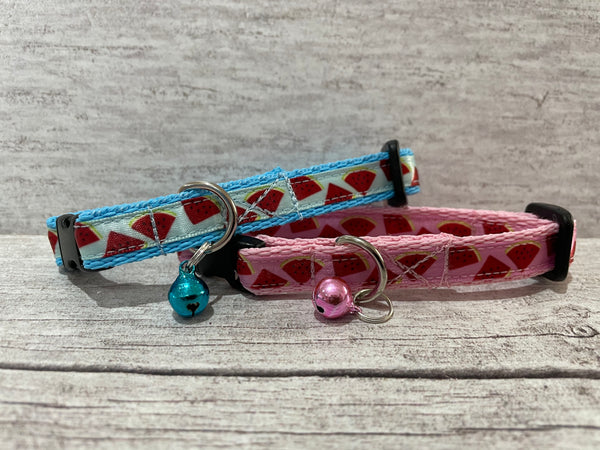 Watermelon Puppy/Small Dog Collar