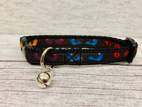 Spooky Eyes Halloween Puppy/Small Dog Collar