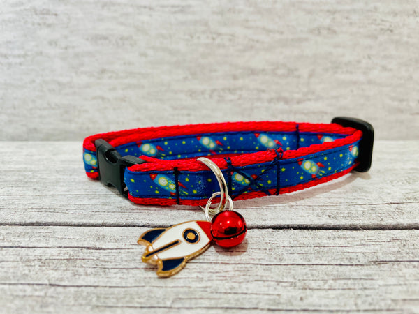 Rocket Space Puppy/Dog Collar