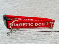 Diabetic - Medical Alert Dog Collar