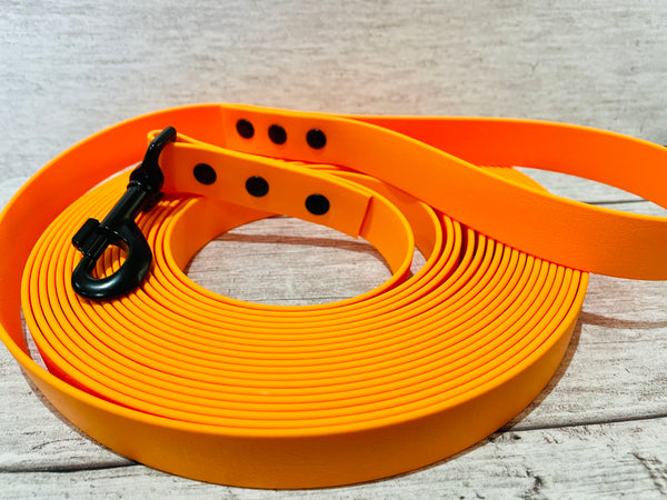 Biothane Training Line Waterproof Dog Collar (Any Colour)