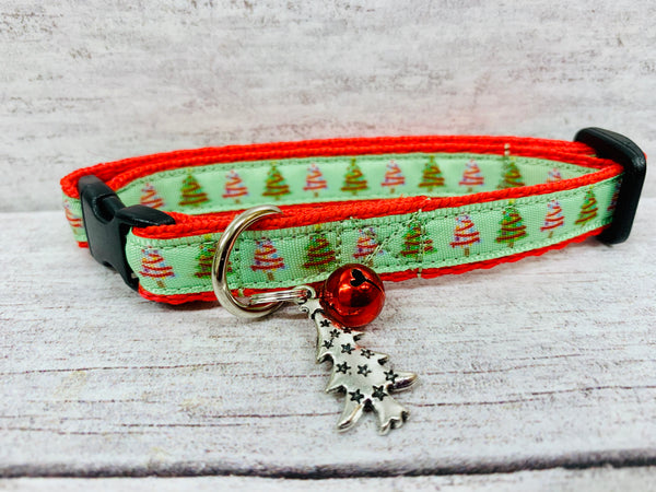 Christmas Tree *Santa* Xmas Kitten/Cat Collar