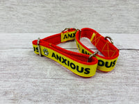 Anxious - Alert Dog Collar - Custom Dog Collars