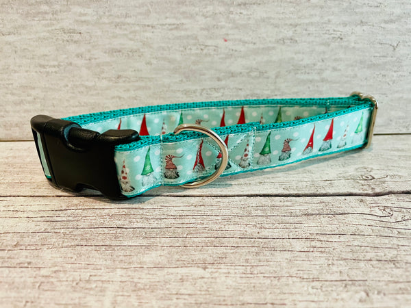 Gonk Gnomes Themed Dog Collar