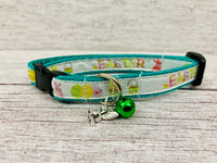 Easter Basket Bunnies Chicks Inspired Puppy/Small Dog Collar - Custom Dog Collars