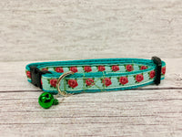 Roses Floral Flower Puppy/Small Dog Collar