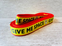 Give Me Space Yellow Ribbon Lead