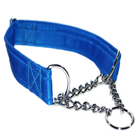 Plain Half Check Heavy Chain Collar - Custom Dog Collars