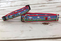 Cute Farm Animals Inspired Dog Collar - Custom Dog Collars