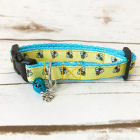 Bee Manchester Inspired Kitten/Cat Collar - Custom Dog Collars