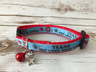 Texas the Lone Star Kitten/Cat Collar