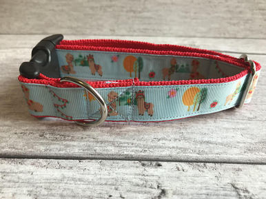 Llamas Dog Collar - Custom Dog Collars