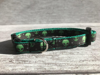 Alien Space Inspired Kitten/Cat Collar - Custom Dog Collars