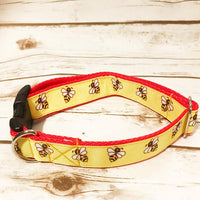 Bee Insect Dog Collar - Custom Dog Collars