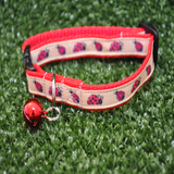 Ladybird Puppy/Small Dog Collar - Custom Dog Collars