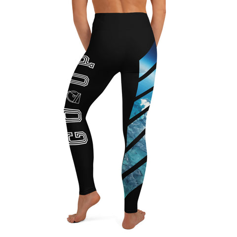 You can only go up custom yoga leggings