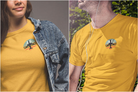 vintage fly away records unisex tee