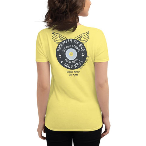 women's slim fit tee fly high records