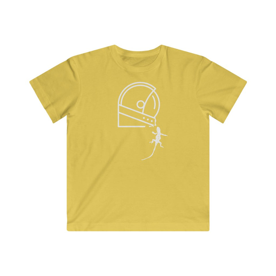 yellow lizard shirt for kids