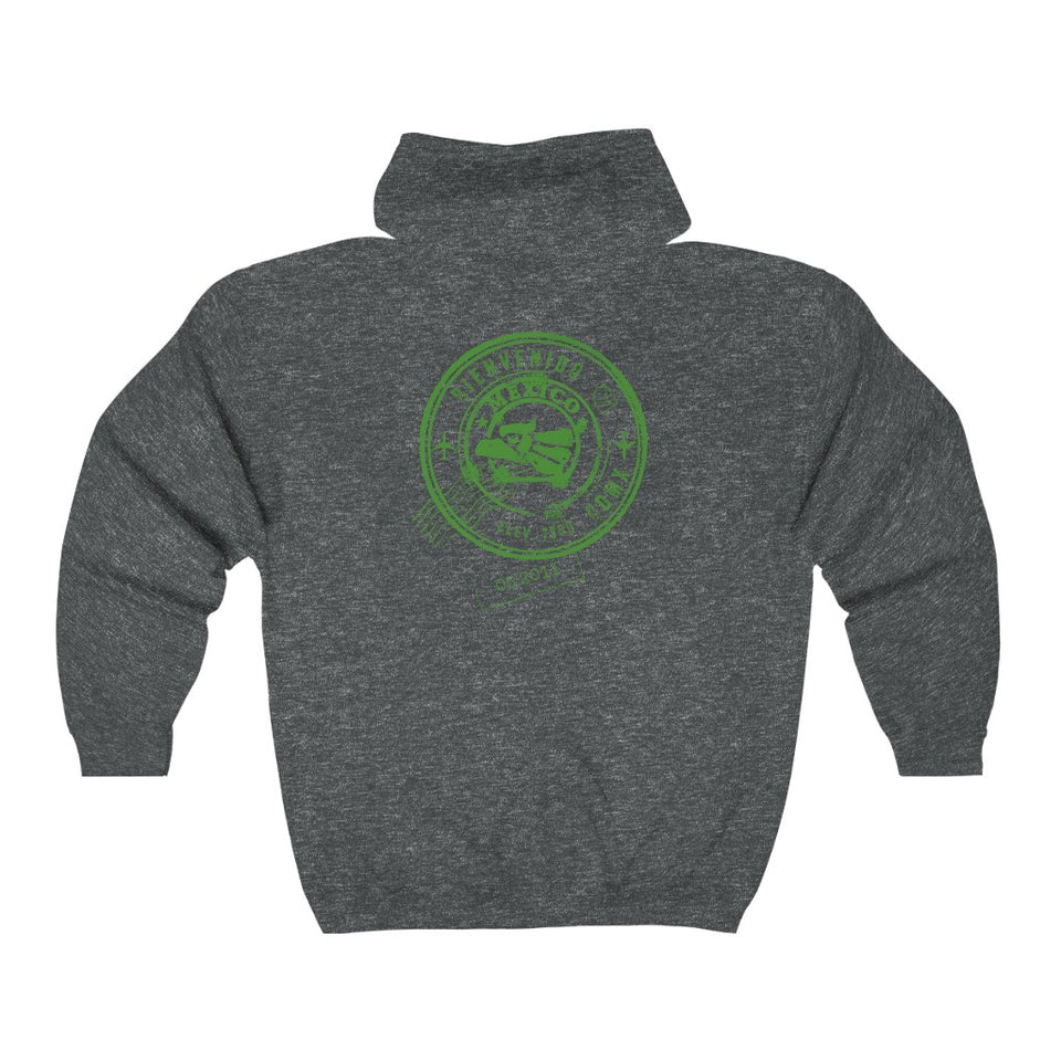 Mexico Unisex Custom Zip-Up Hoodie