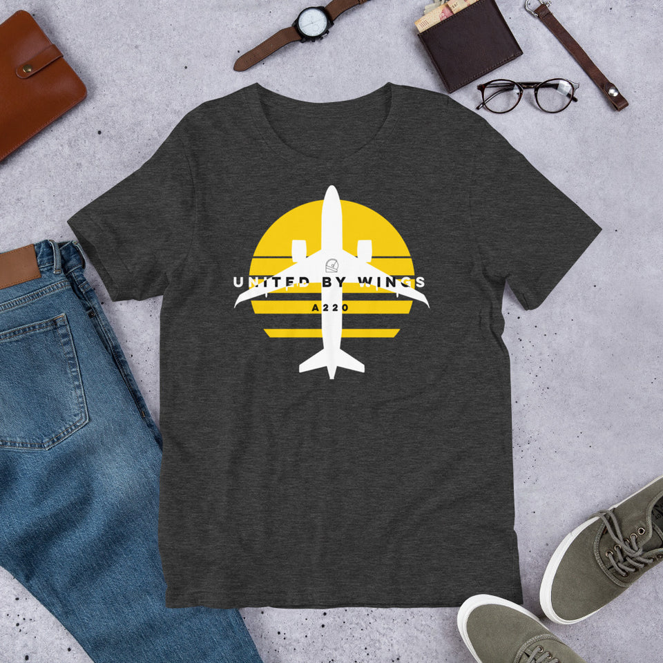 United by Wings Airbus A220 Shirts