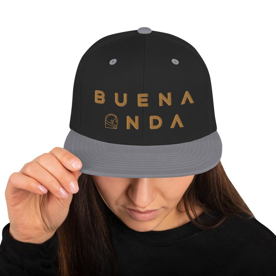 Buena Onda Snapback Hat - Moondream Studios