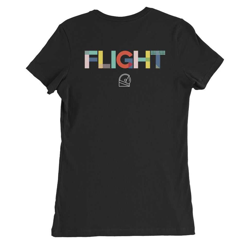 dream of flight women's custom shirt