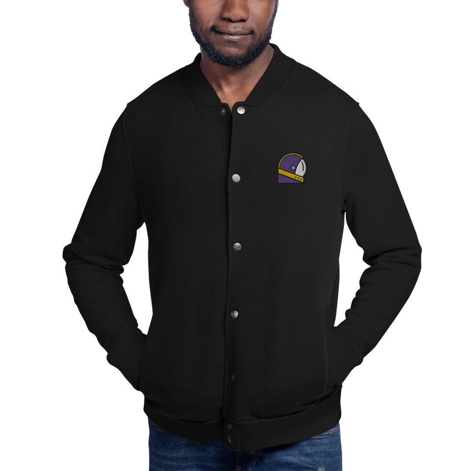 Moondream Embroidered Champion Bomber Jacket