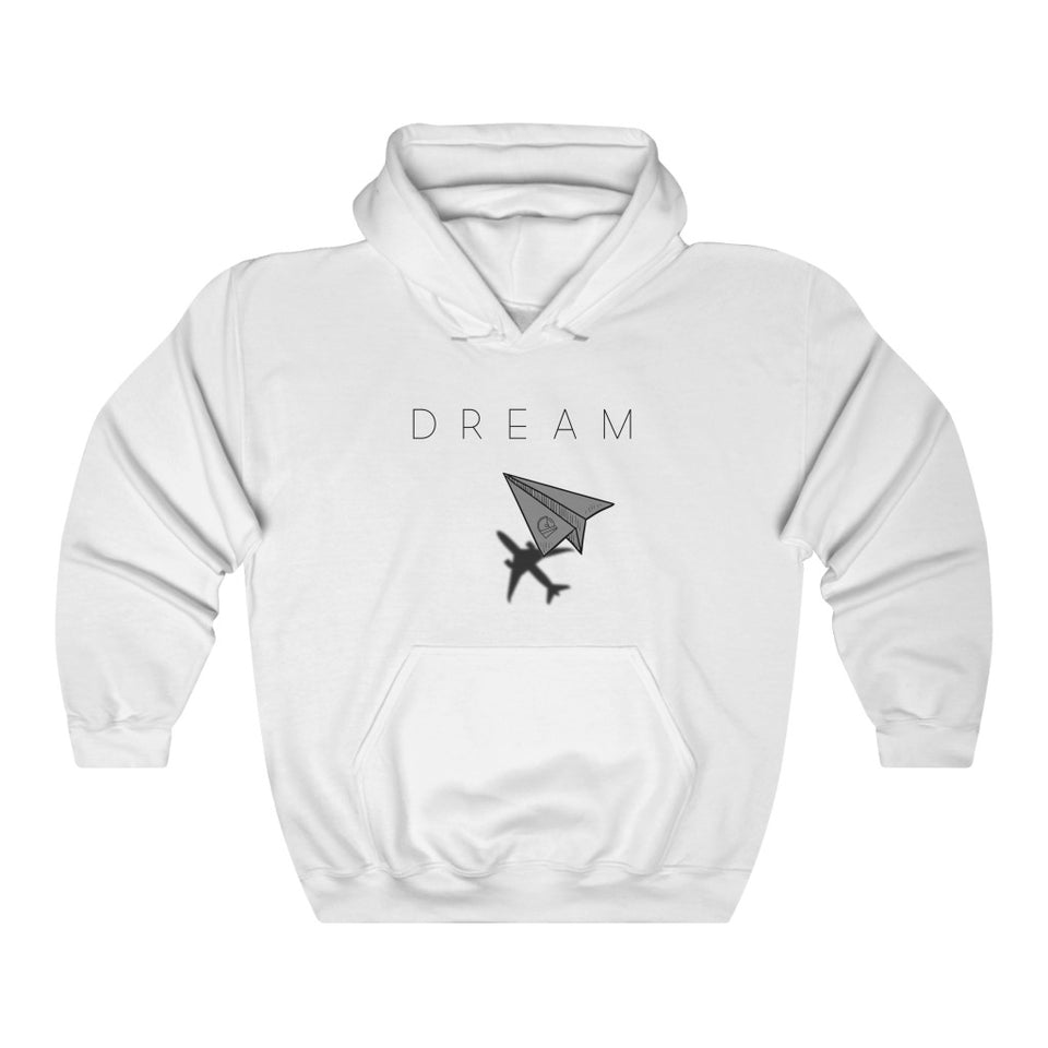 paper airplane flight kids hoodie
