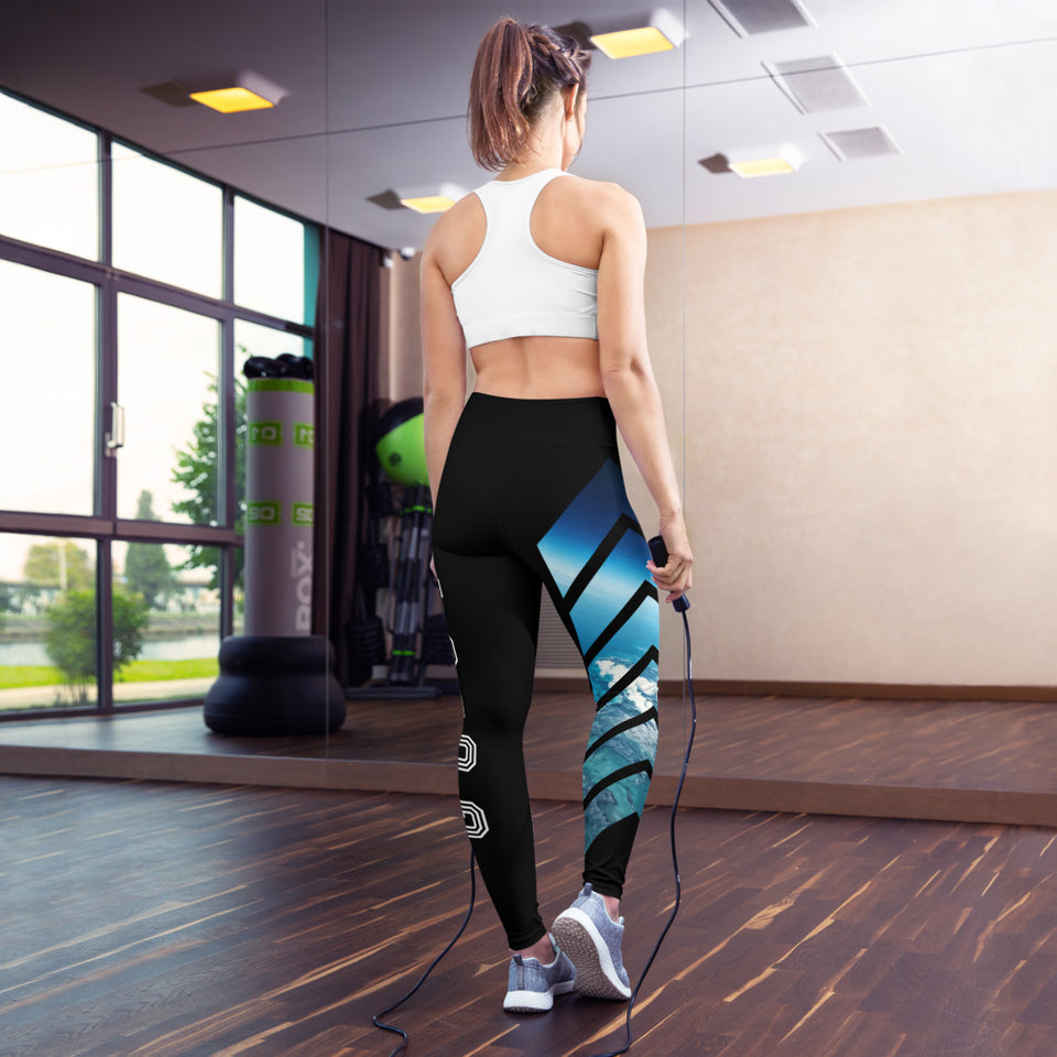 Aviation themed Yoga Leggings