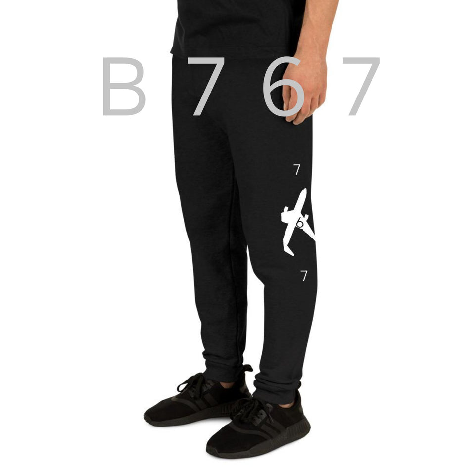 B767 Unisex Joggers - Moondream Studios Eclipse Apparel Minimalist clothing design