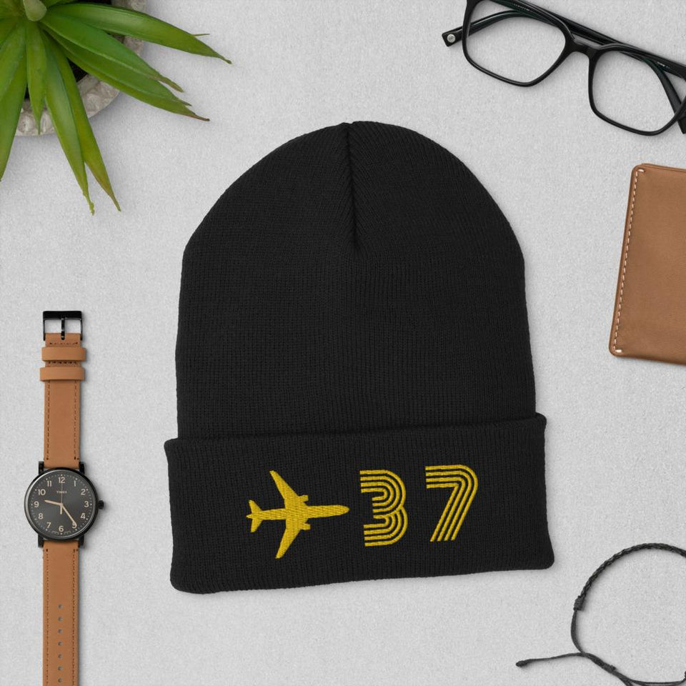 37 Cuffed Beanie - Moondream Studios