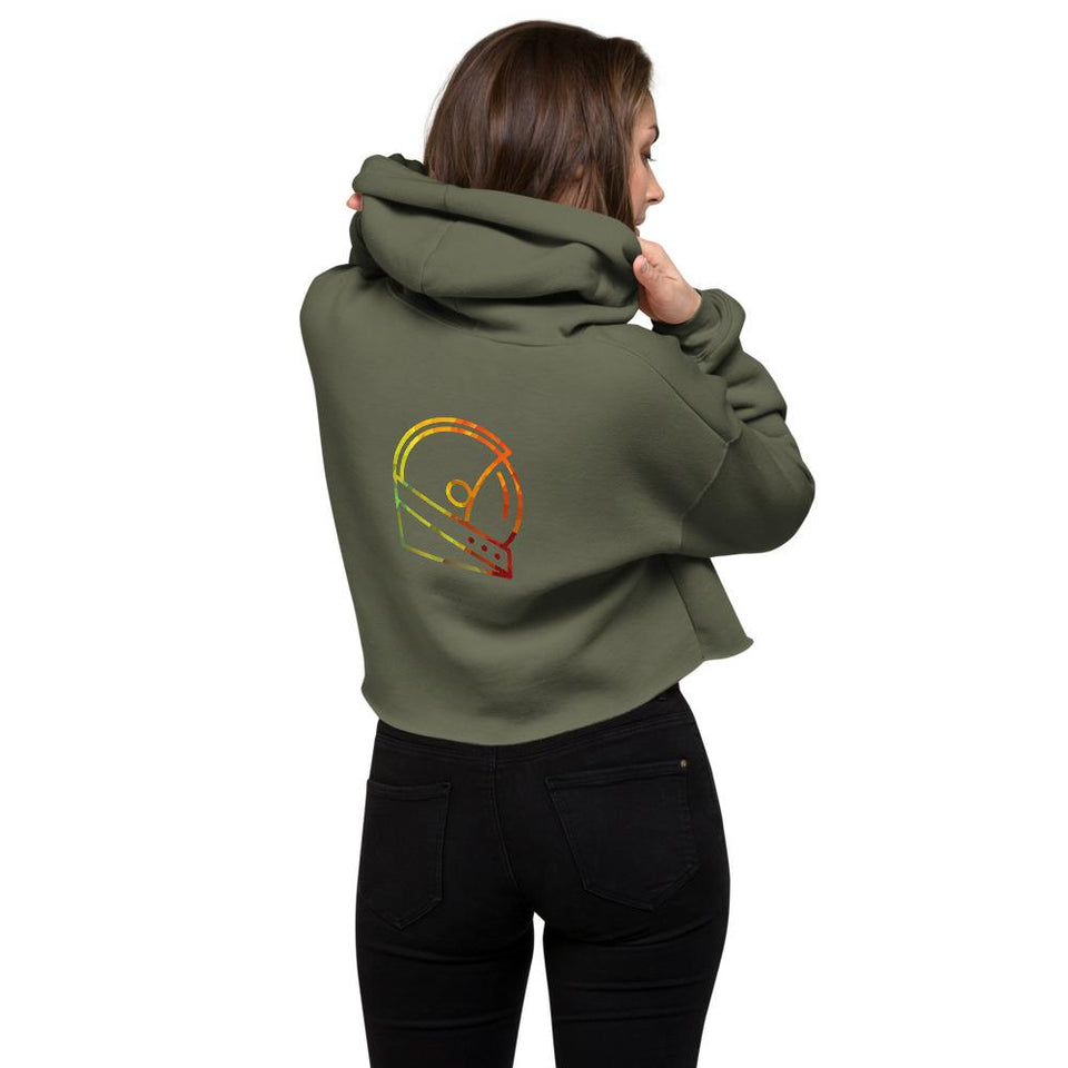 military green custom hoodie