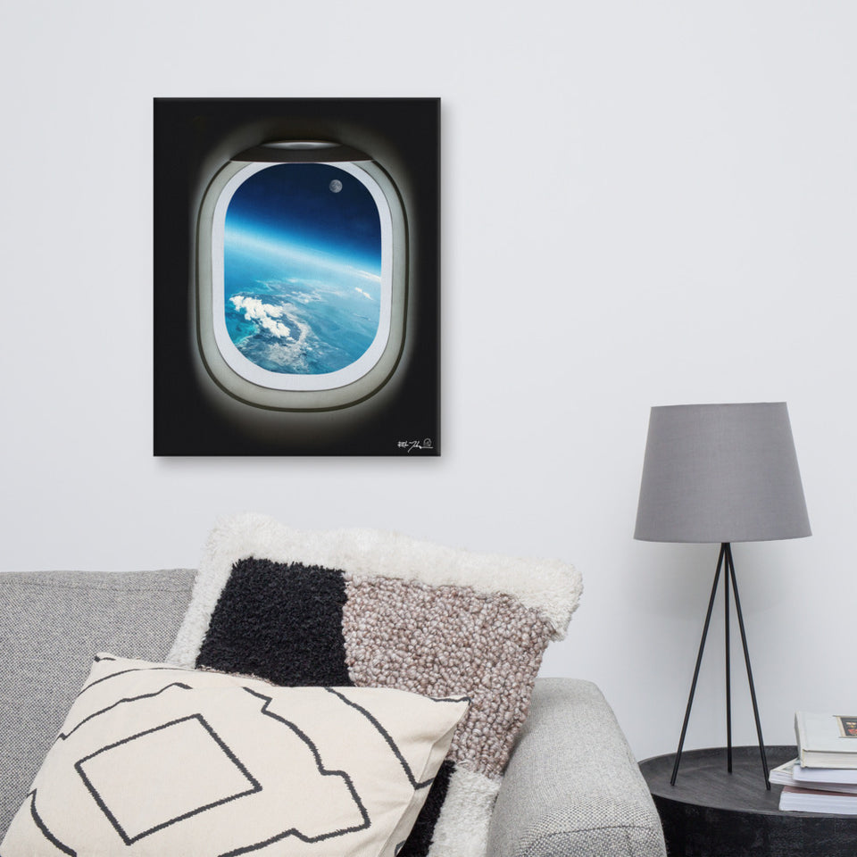 Aircraft windows Canvas Art