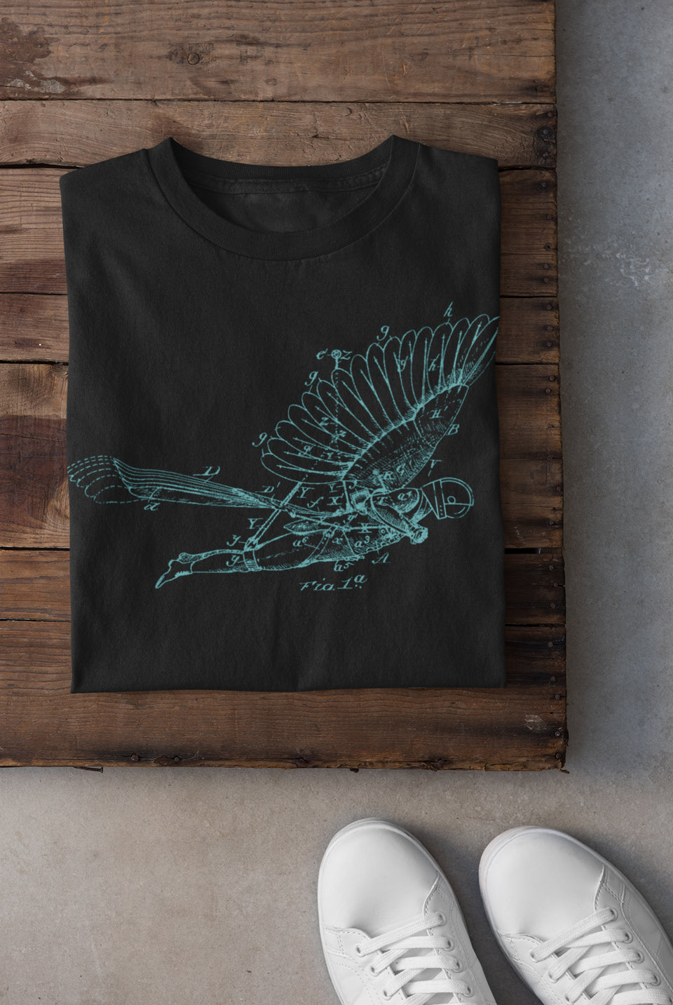 black vintage flight unisex custom shirt