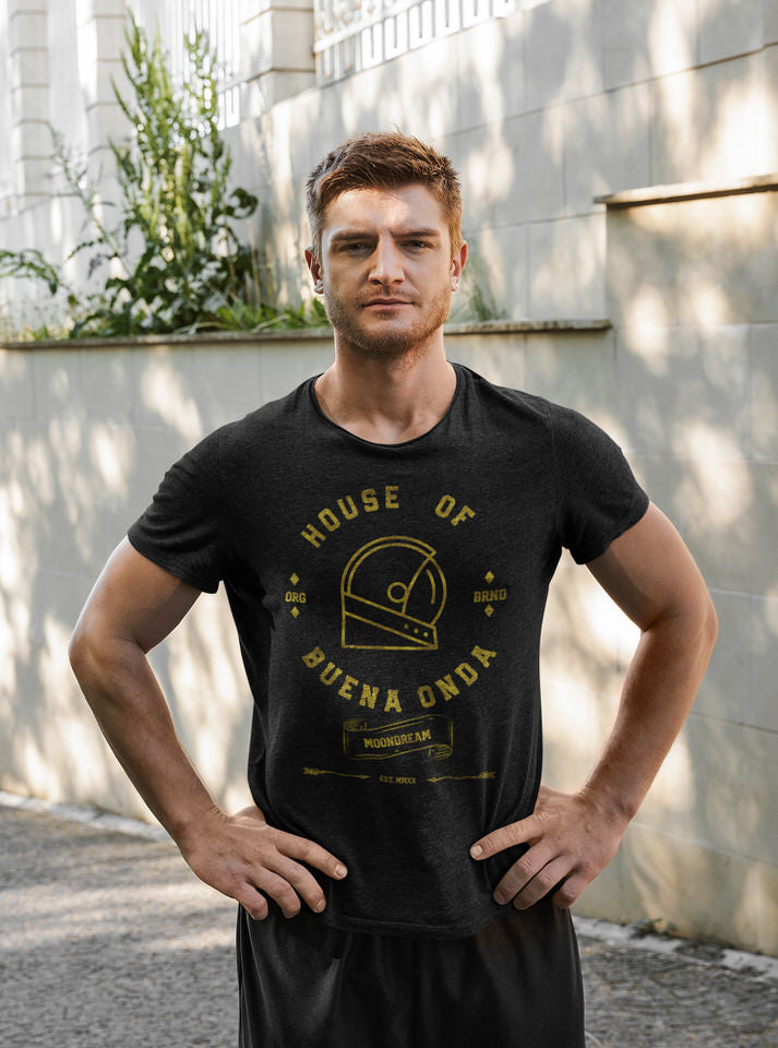 House of Buena Onda Gold Unisex T-Shirt