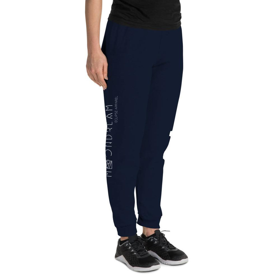 B777 Unisex Joggers - Moondream Studios Eclipse Apparel Minimalist clothing design