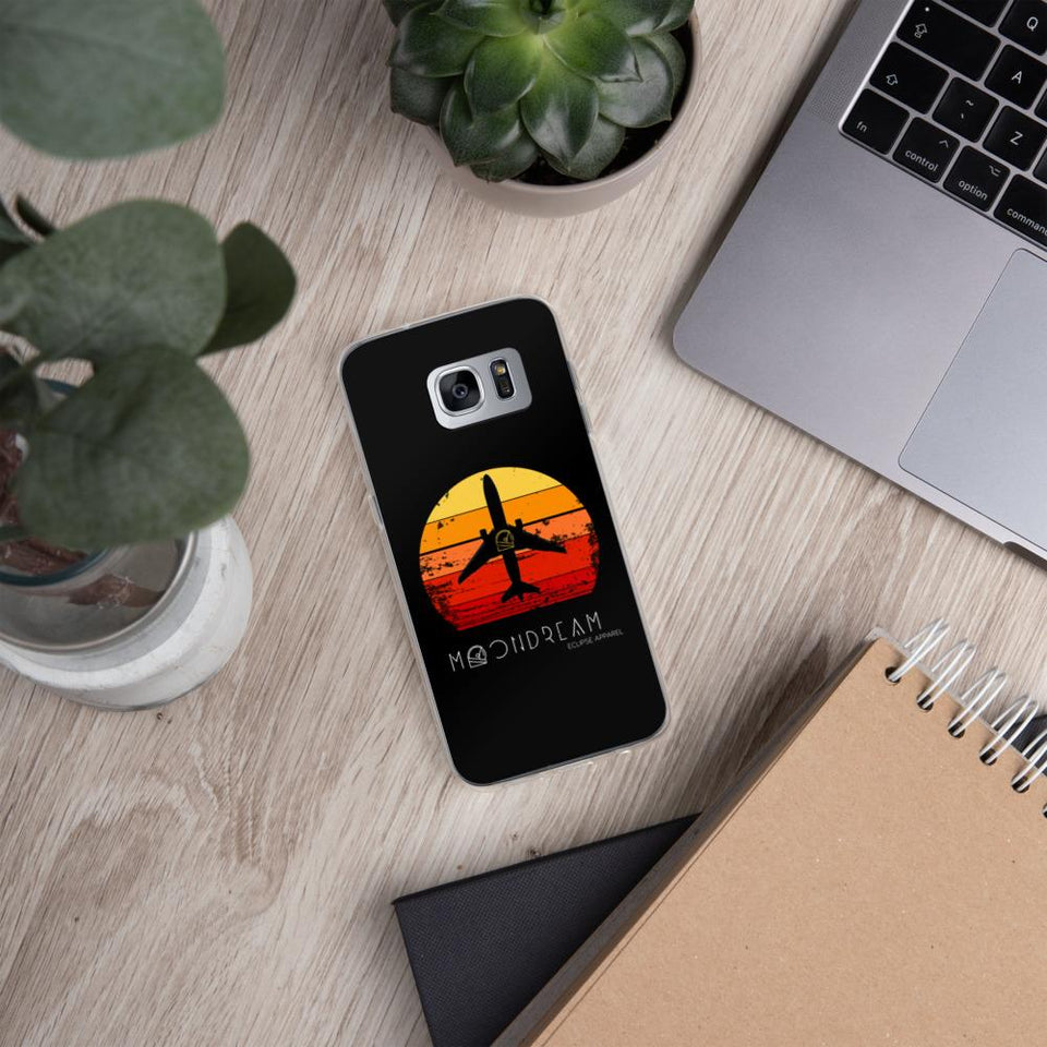 Boeing 737 Sunrise Samsung Case - Moondream Studios