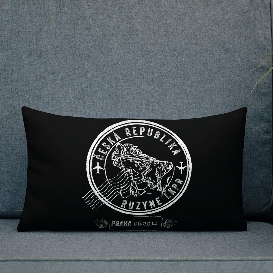 Prague custom accent pillow
