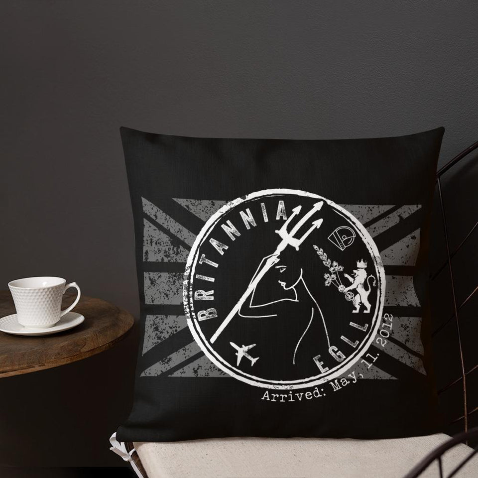 Britannia Premium Pillow - Moondream Studios