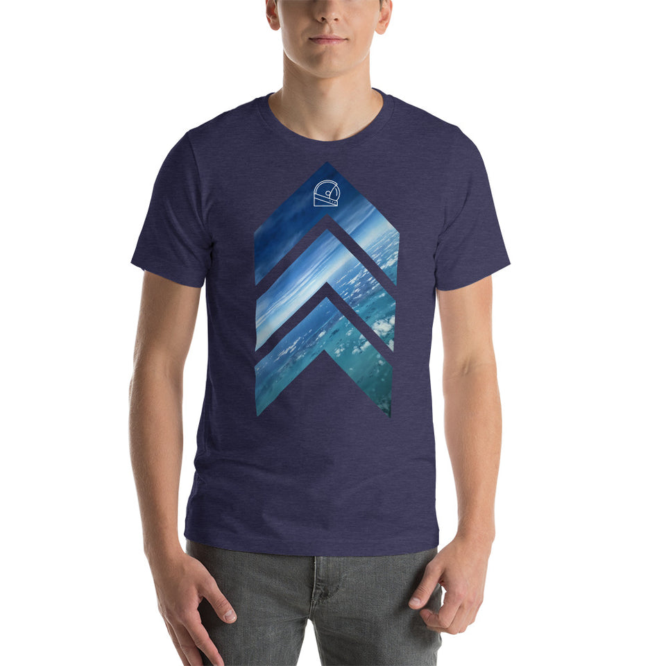 Graphic Tees • You can Only Go Up Heather Material Unisex T-Shirt