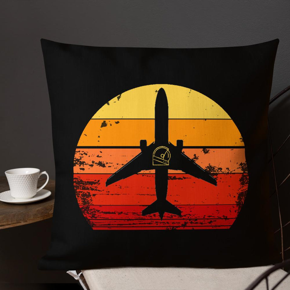 boeing custom accent pillow