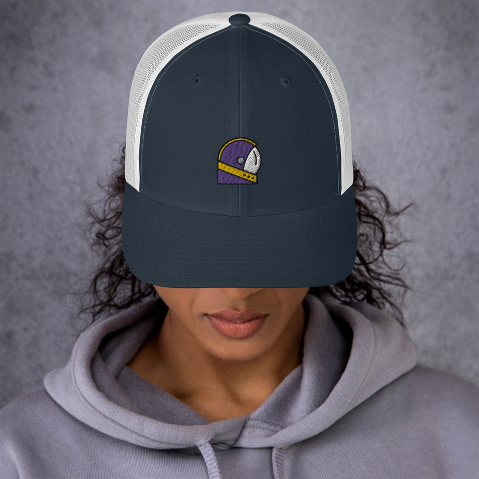 Moondream Purple Logo Trucker Cap