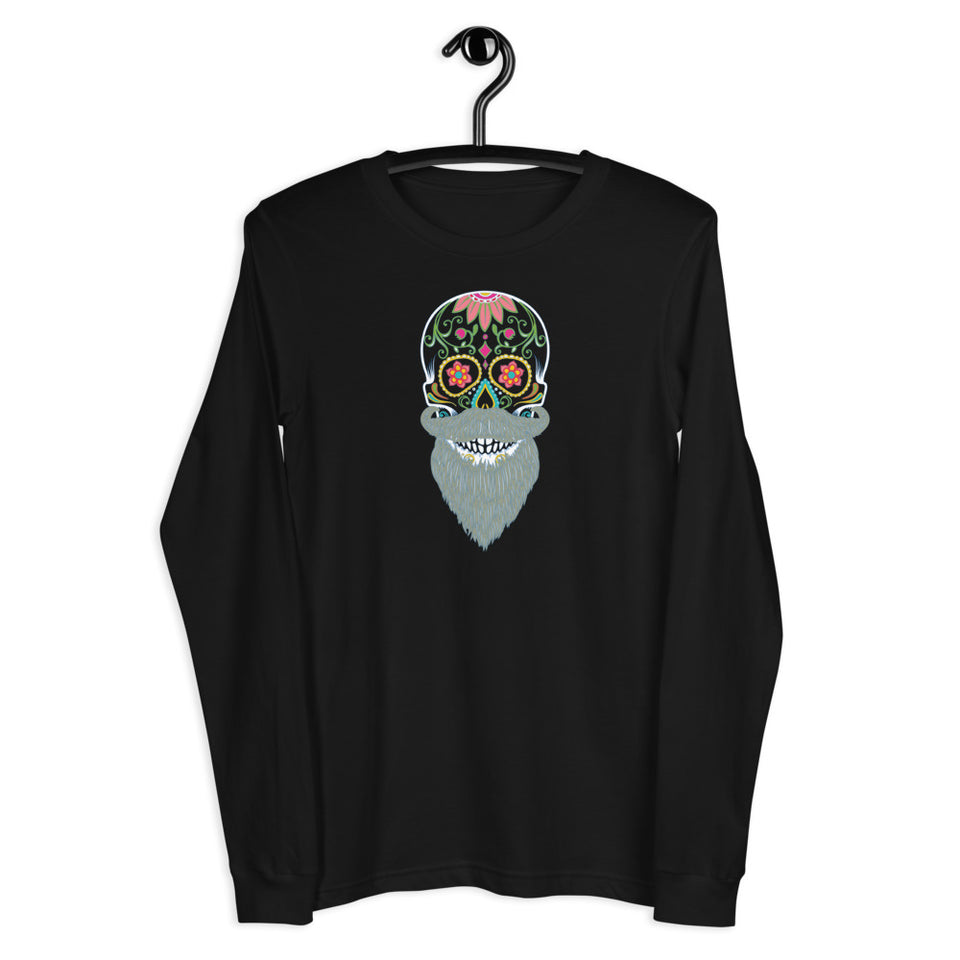 Day of the dead custom graphic long sleeve