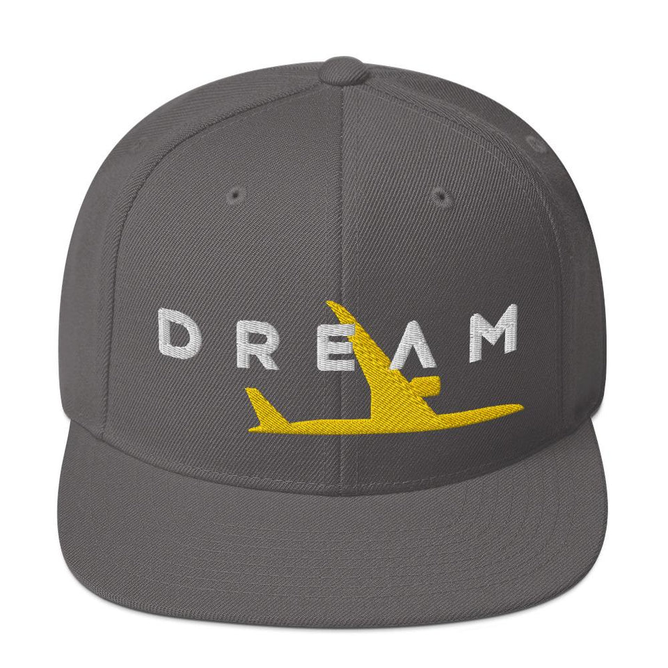 Boeing 787 Snapback Hat - Moondream Studios
