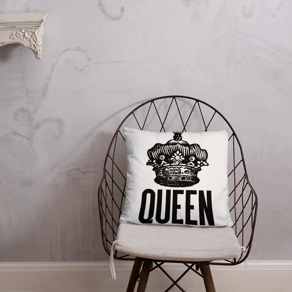 Queen Pillow - Moondream Studios Eclipse Apparel Minimalist clothing design